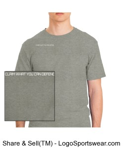 Heavyweight Cotton Pocket Custom Tshirt Design Zoom
